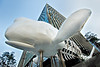 Ascendas Seoul Whale Sculpture : Ascendas Seoul architectural whale sculpture - Feb. 21, 2013.