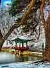 "Changdeok-gung Palace and Gardens : Changdeok-gung and its ""Secret Garden"" of Biwon are UNESCO-designated heritage sites in Seoul, Korea."