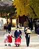 Seoul Autumn Day, 2004 : An October day in the traditional part of northern Seoul featuring autumn leaves and Confucian schools